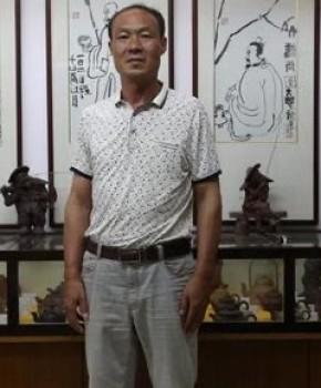 紫砂壶工艺师陈建明名家照片