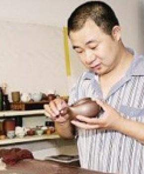 紫砂壶工艺师徐飞名家照片