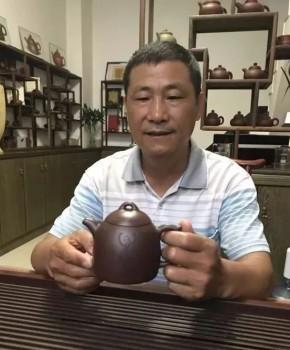 紫砂壶工艺师王其明名家照片