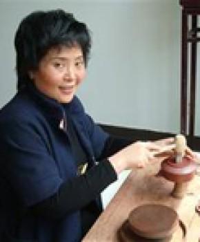紫砂壶工艺师刘蓉萍名家照片