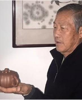 紫砂壶工艺师蒋春帆名家照片