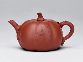 紫砂壶拍卖|陈鸣远制《南瓜壶》拍出3220万元