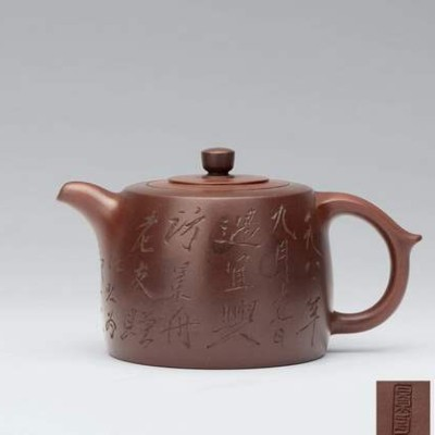 紫砂装饰术语——陶刻装饰