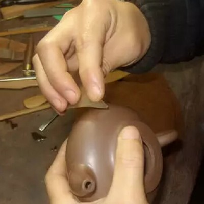 """紫砂壶,制壶用的""""明针"""",有何作用?"""