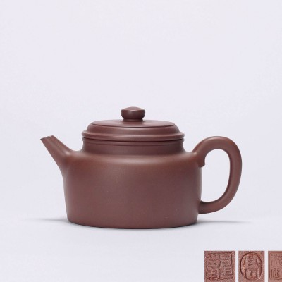 紫砂壶表面有一层白色物质附着,这把壶还能用嘛?