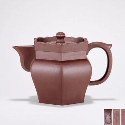 紫砂壶拍卖 葛陶中制《僧帽壶》拍出51.75万元
