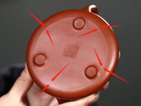 紫砂壶壶底、壶口有一条线,是瑕疵?