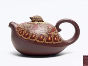 紫砂壶绞泥技术的表现手法