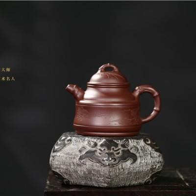 葛岳纯作品 竹鼎壶