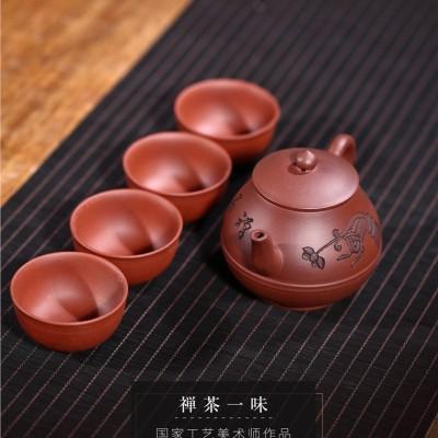 姚华君作品 禅茶一味