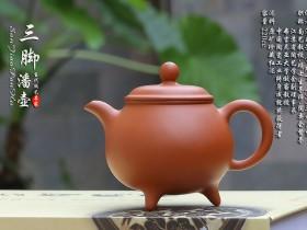 紫砂鉴赏丨潘春芳·三足潘壶