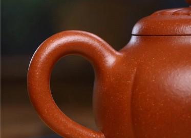 范文杰紫砂壶作品 原矿降坡泥菱花壶 220CC 国家级工艺美术师 范文杰紫砂壶价格,多少钱