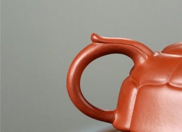 葛军紫砂壶作品 原矿大红袍福寿万年壶 300CC 研究员级高级工艺美术师 葛军紫砂壶价格,多少钱