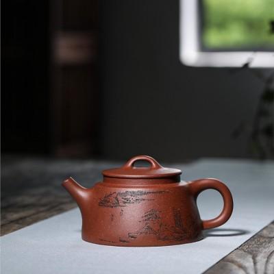 韩惠琴作品 鱼罩壶