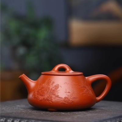 陈小明作品 山水石瓢