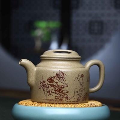 陈小明作品 牛盖壶
