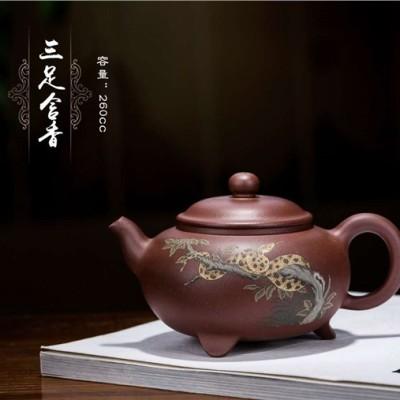 尹燕芳作品 三足含香