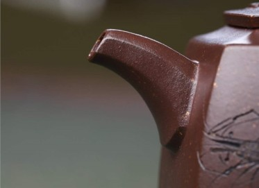刘浩紫砂壶作品|原矿紫泥如意井栏壶320CC纯手工正品价格表