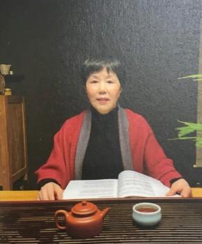 紫砂壶工艺师张志英名家照片