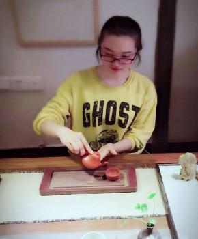 紫砂壶工艺师陈玺名家照片