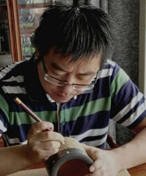 紫砂壶工艺师顾峥嵘名家照片