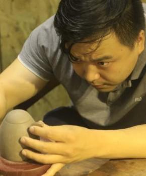 紫砂壶工艺师蒋玉麟名家照片