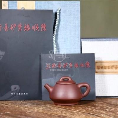陈顺培作品 饮瓢壶