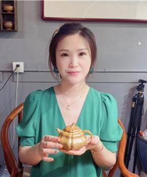 紫砂壶工艺师陈蒙娅名家照片