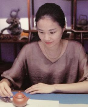 紫砂壶工艺师王洁名家照片