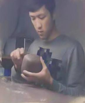 紫砂壶工艺师祝强名家照片
