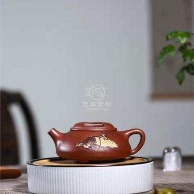 陈惠红作品 牛盖石瓢