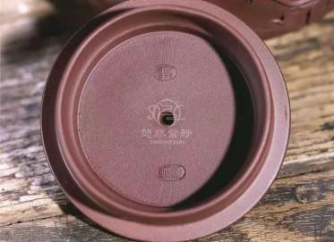 范微琴紫砂壶作品|原矿紫泥玉兰幽香壶490CC全手工正品价位