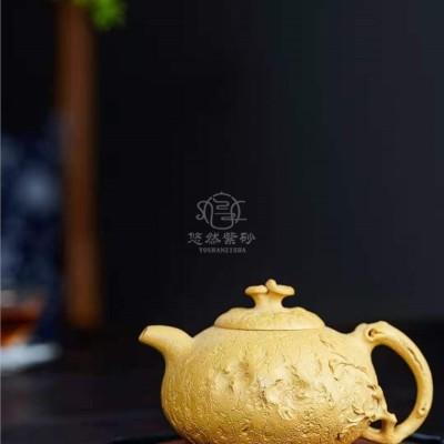 李洪明作品 灵芝供春