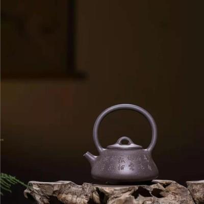 韩惠琴作品 石瓢提梁