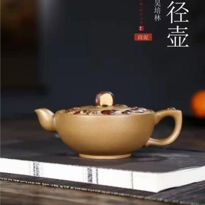 吴培林作品 叶径壶