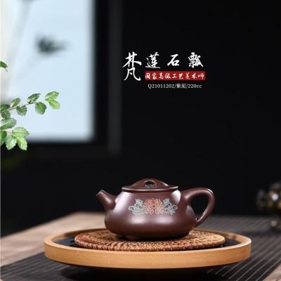 吴赛春作品 梵莲石瓢