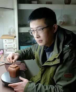 紫砂壶工艺师林宣健名家照片