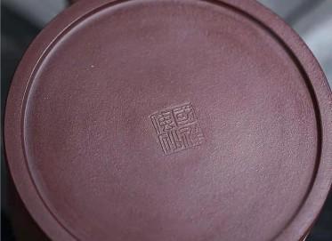 王国祥紫砂壶作品|原矿紫泥松竹梅套组壶550CC手制真品价格表