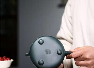 张伟军紫砂壶作品|民国绿泥景舟石瓢壶320CC纯手工正品怎么样