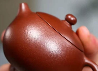 杨鹏紫砂壶作品|石红料西施壶120CC纯手工真品价格
