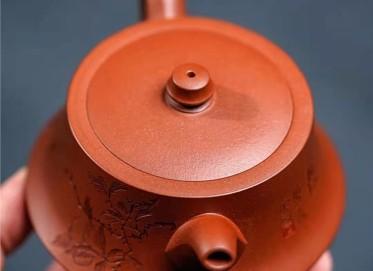 陈小明紫砂壶作品|原矿底槽清柱础壶280CC全手工正品价位