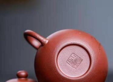 陈小明紫砂壶作品|紫红泥忘秋壶180CC手制正品价格表