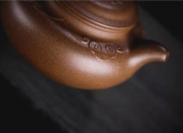 牟锦芬紫砂壶作品|天青泥事事如意仿古壶290CC手工正品价格表