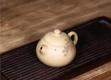 史宗娟紫砂壶作品|原矿段泥文旦壶220CC手工正品价格表