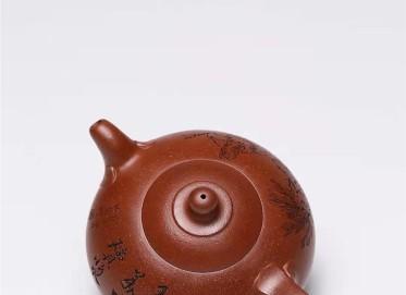 范秀芳紫砂壶作品|原矿降坡泥玉乳金砂壶330CC手制真品价位