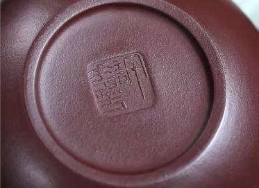 许华芳紫砂壶作品|原矿紫泥莲年有余壶370CC全手工正品怎么样