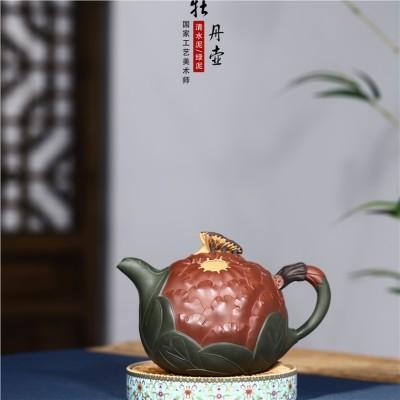 史宗娟作品 牡丹壶