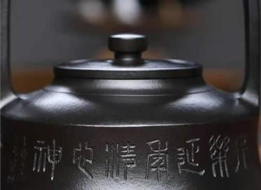 成梅英紫砂壶作品|石黄泥提壁壶550CC纯手工真品价格