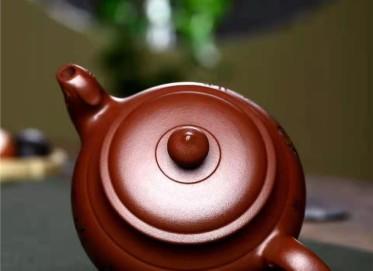 朱正琴紫砂壶作品 原矿底槽清清辉映竹壶370CC手制真品价位