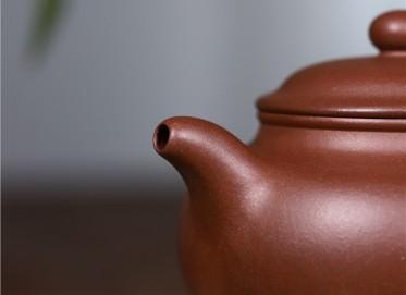 史宗娟紫砂壶作品|原矿底槽清掇只壶300CC纯手工真品价位